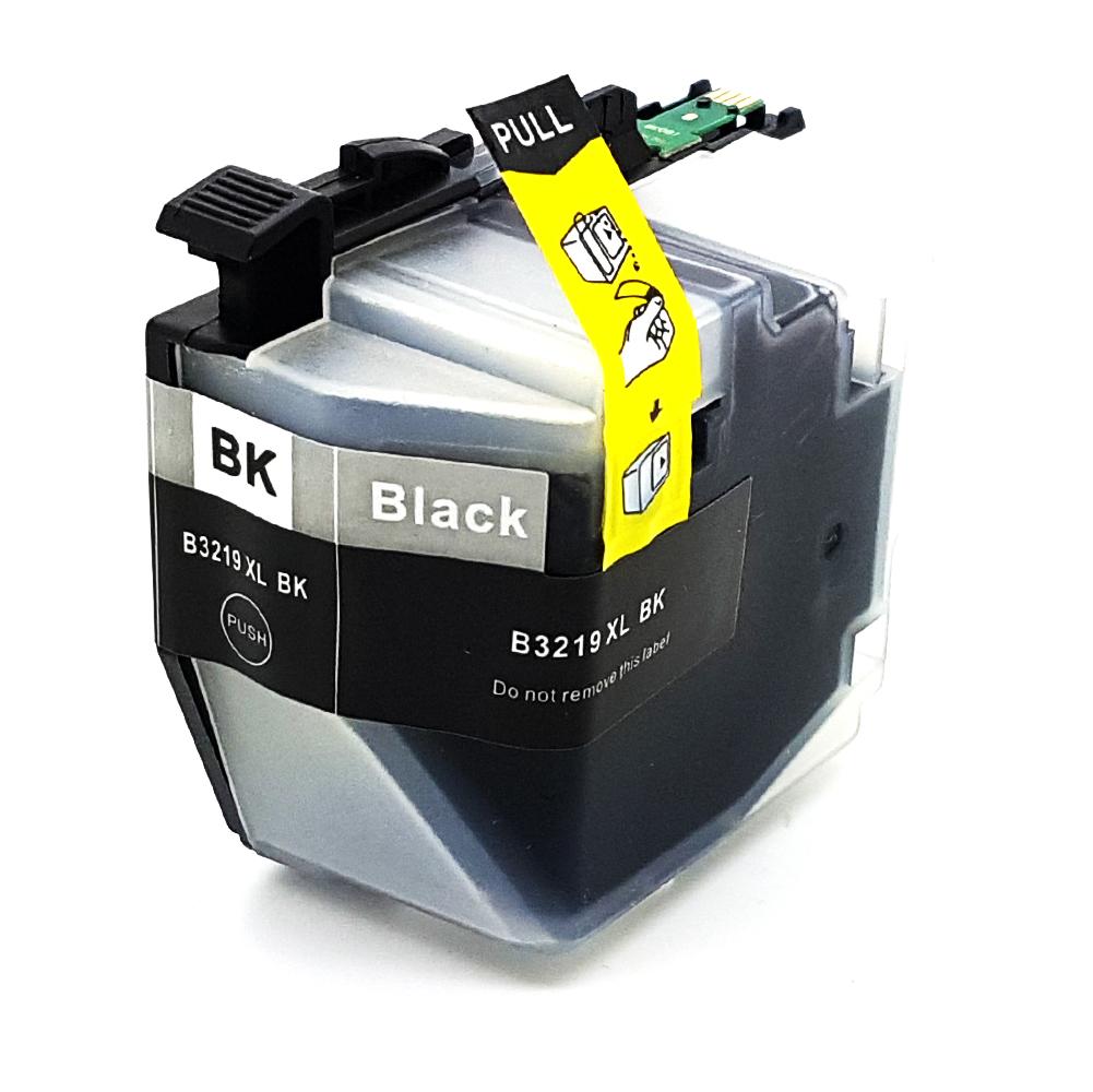 Komp. Tintenpatrone für Brother LC-3219 | black (XL) | mit Chip