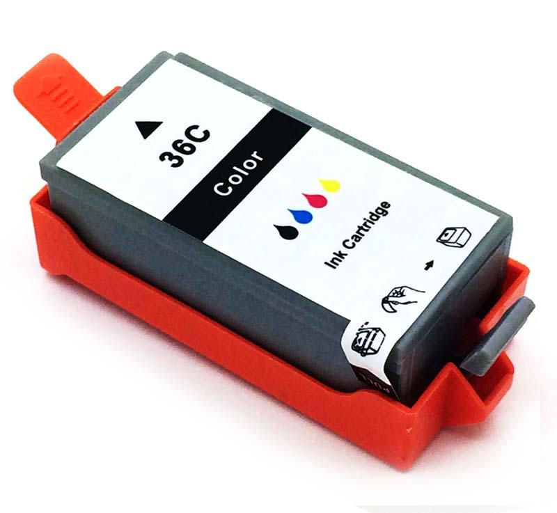 Komp. Tintenpatrone für Canon CLI-36 | color | mit Chip