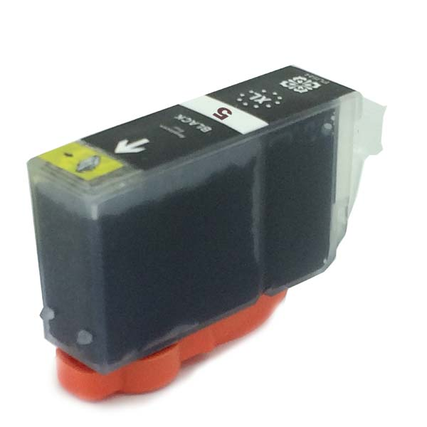 Komp. Tintenpatrone für Canon PGI-5 | black | mit Chip
