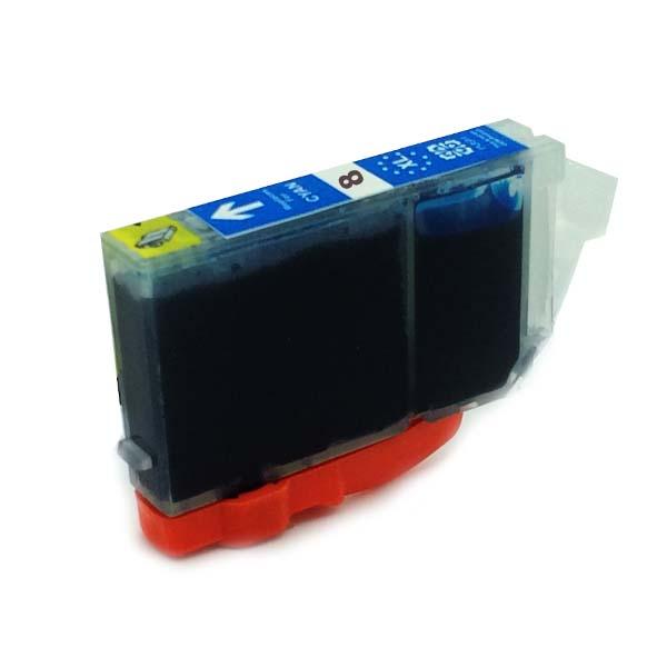 Komp. Tintenpatrone für Canon CLI-8 | cyan | mit Chip