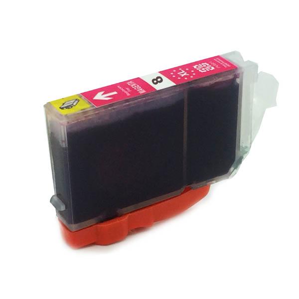 Komp. Tintenpatrone für Canon CLI-8 | magenta | mit Chip