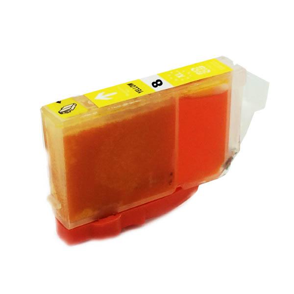 Komp. Tintenpatrone für Canon CLI-8 | yellow | mit Chip