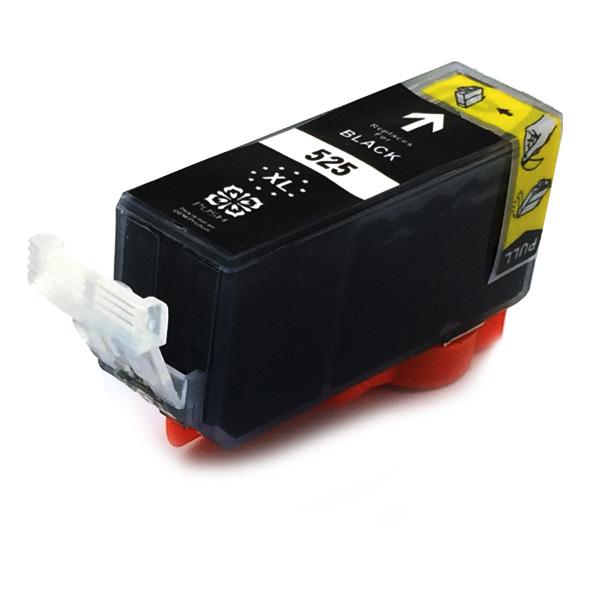 Komp. Tintenpatrone für Canon PGI-525 | black | mit Chip