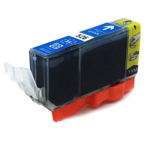 Komp. Tintenpatrone für Canon CLI-526 | cyan | mit Chip