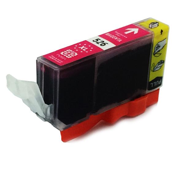 Komp. Tintenpatrone für Canon CLI-526 | magenta | mit Chip