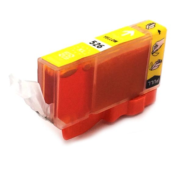 Komp. Tintenpatrone für Canon CLI-526 | yellow | mit Chip
