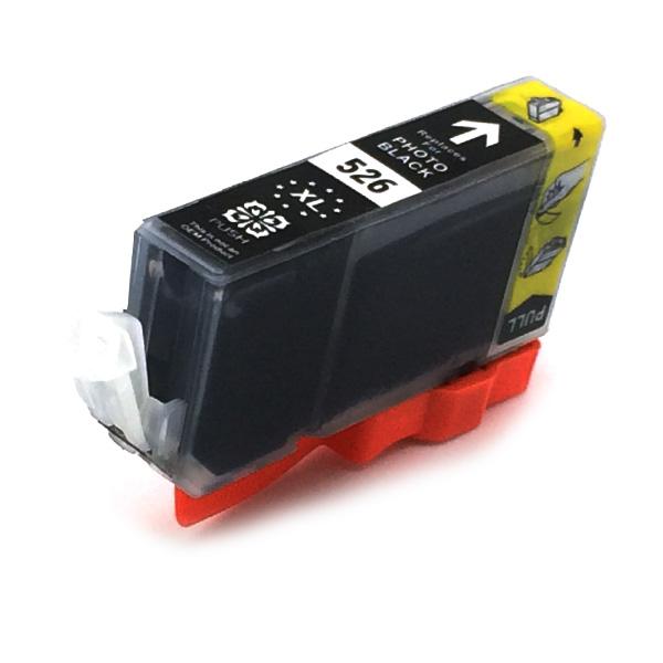 Komp. Tintenpatrone für Canon CLI-526 | photoblack | mit Chip