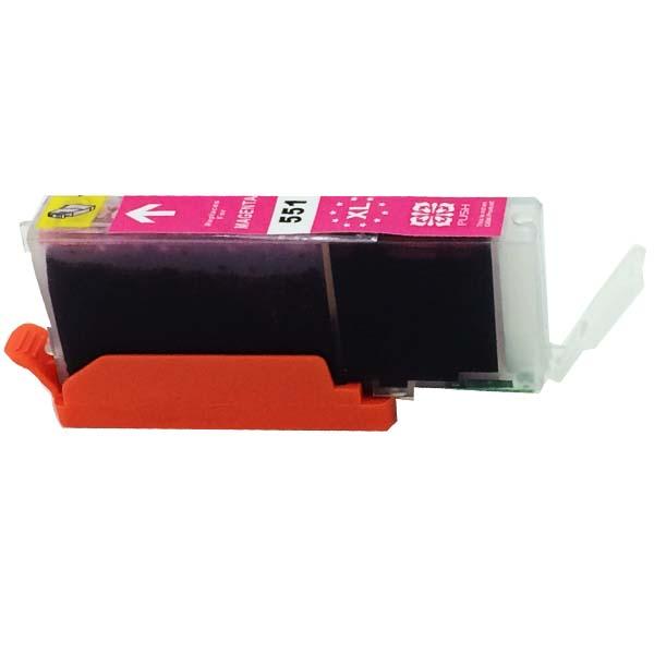 Komp. Tintenpatrone für Canon CLI-551 | magenta | mit Chip