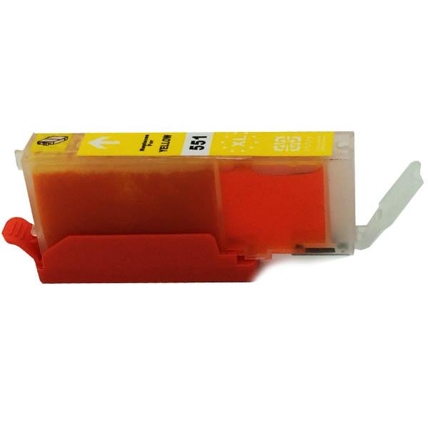 Komp. Tintenpatrone für Canon CLI-551 | yellow | mit Chip