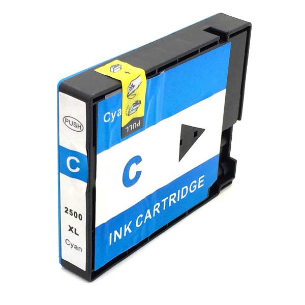 Komp. Tintenpatrone für Canon PGI-2500 | cyan | mit Chip (XL)