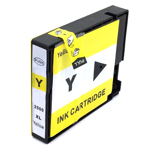 Komp. Tintenpatrone für Canon PGI-2500 | yellow | mit Chip (XL)