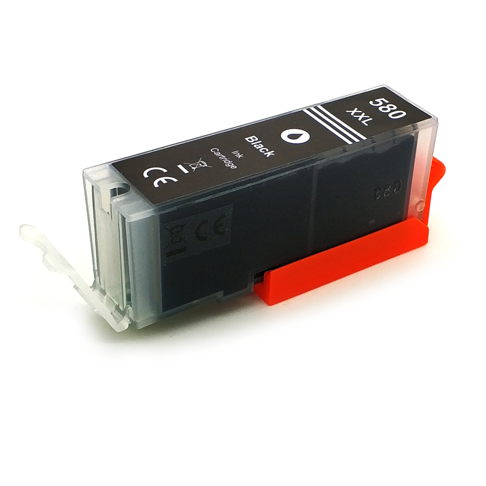 Komp. Tintenpatrone für Canon PGI-580 | black | mit Chip