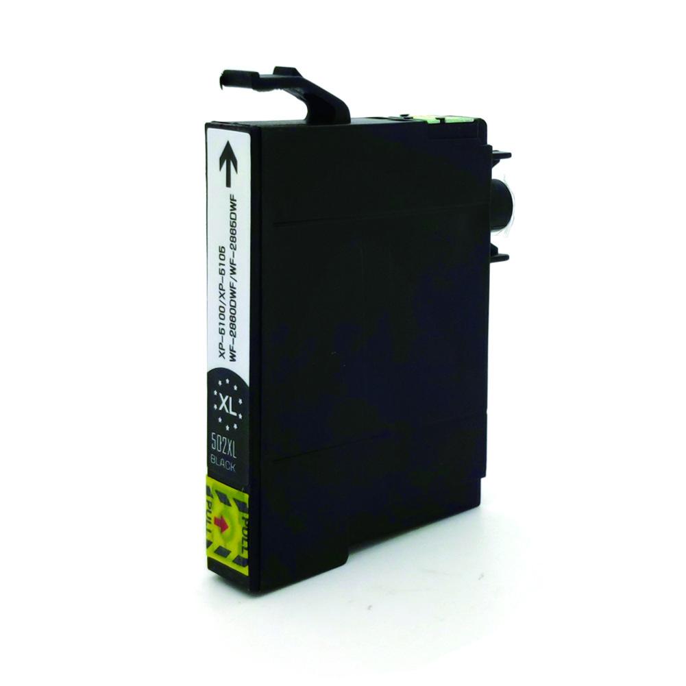 Komp. Tintenpatrone für Epson 502 | black