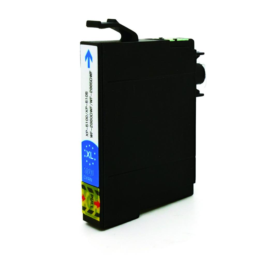 Komp. Tintenpatrone für Epson 502 | cyan