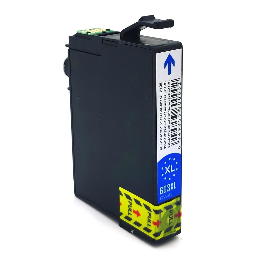 Komp. Tintenpatrone für Epson 603 | cyan