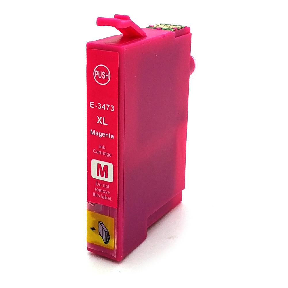Komp. Tintenpatrone für Epson T3473 | magenta