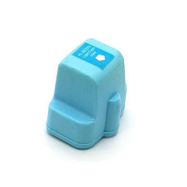 Komp. Tintenpatrone für HP Nr. 363 | C8774EE | light-cyan (XXL)