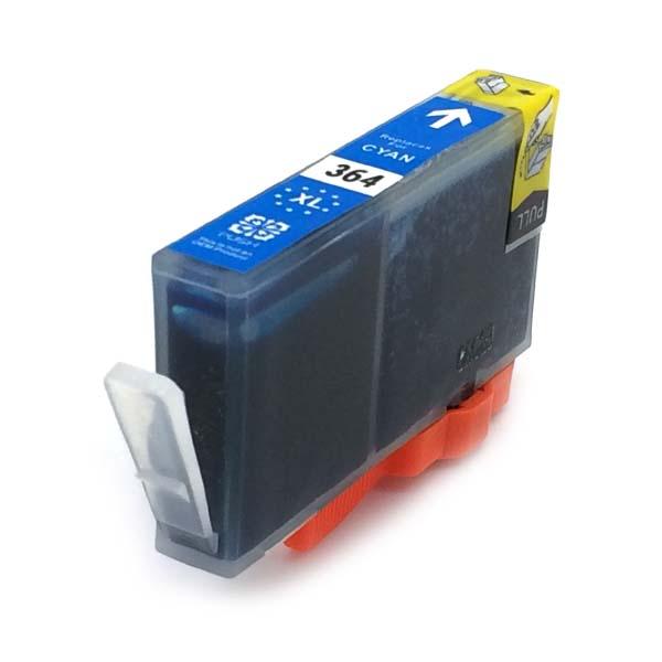 Komp. Tintenpatrone für HP Nr. 364 | CB323EE | cyan (XL) | mit Chip