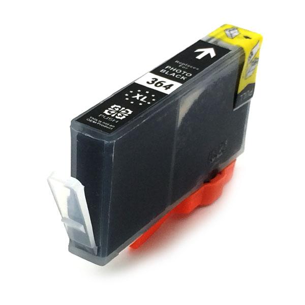 Komp. Tintenpatrone für HP Nr. 364 | CB322EE | photo-black (XL) | mit Chip