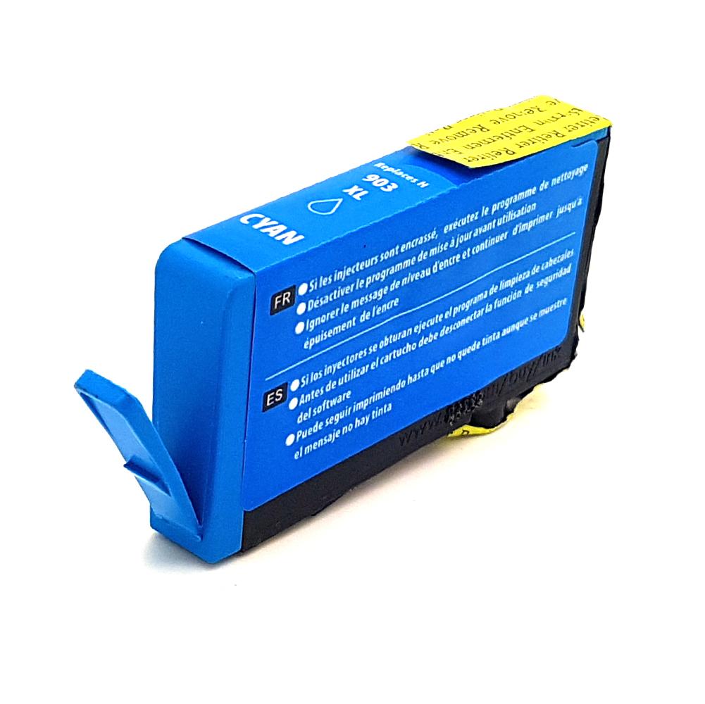 Komp. Tintenpatrone für HP Nr. 903 | T6M03AE | cyan (XL) | mit Chip
