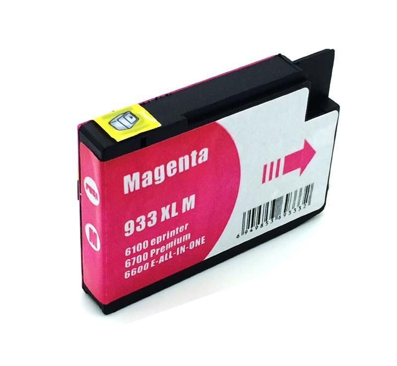 Komp. Tintenpatrone für HP Nr. 933 | CN055AE | magenta (XL) | mit Chip