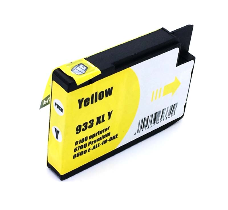Komp. Tintenpatrone für HP Nr. 933 | CN056AE | yellow (XL) | mit Chip