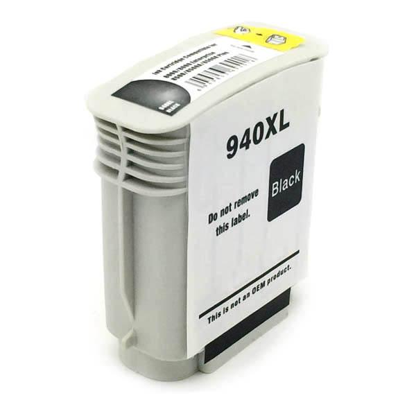 Komp. Tintenpatrone für HP Nr. 940 | C4906AE | black (XL) | mit Chip
