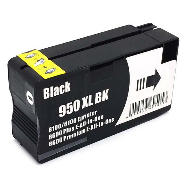Komp. Tintenpatrone für HP Nr. 950 | CN045AE | black (XL) | mit Chip