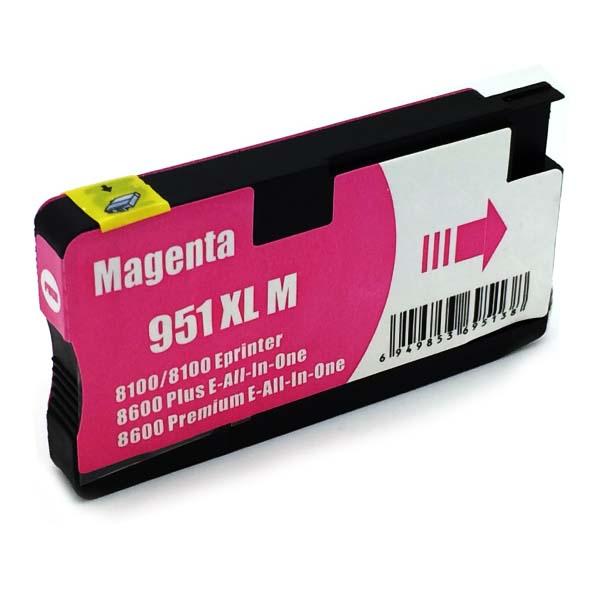 Komp. Tintenpatrone für HP Nr. 951 | CN047AE | magenta (XL) | mit Chip