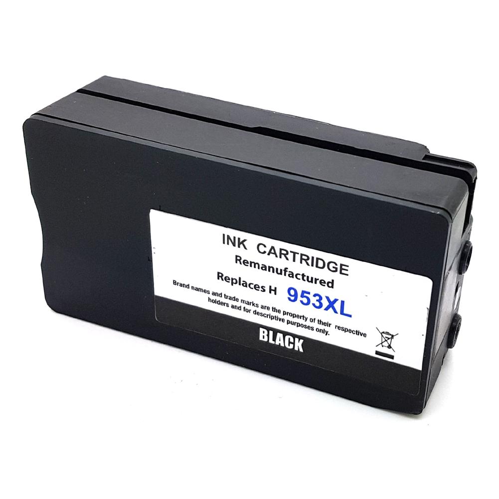 Komp. Tintenpatrone für HP Nr. 953 | L0S70AE | black (XL) | mit Chip