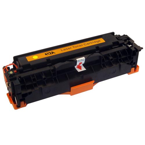 Toner XL kompatibel zu HP CE412A | yellow | 2.600 Seiten