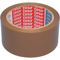 tesapack Klebeband PP | Nr. 64014 | braun | 66m:50mm | leise abrollbar